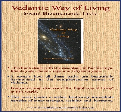 VEDANTIC WAY OF LIVING